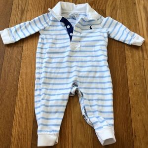 Ralph Lauren Button Down Onesie